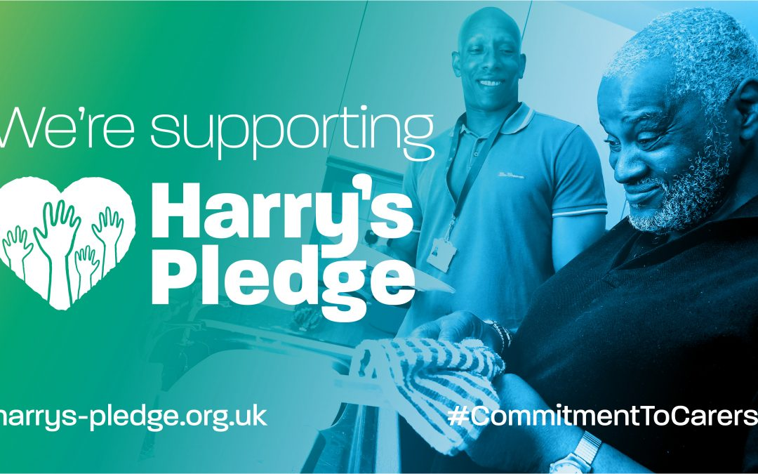 We're supporting Harry's Pledge