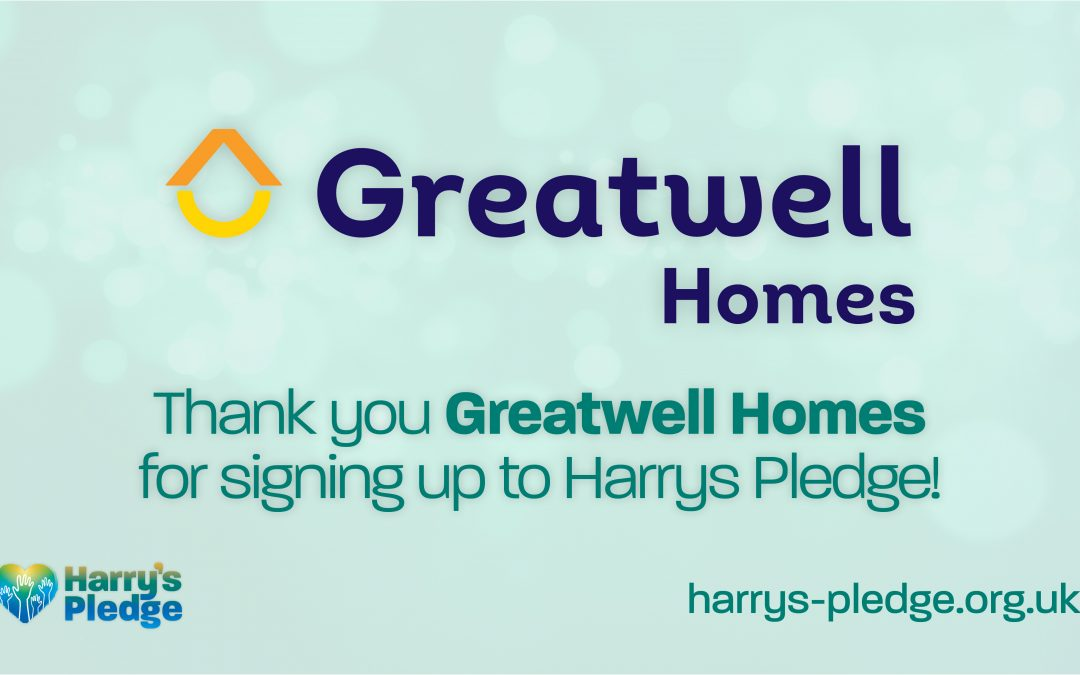 Northamptonshire-based, Greatwell Homes sign up to Harry's Pledge