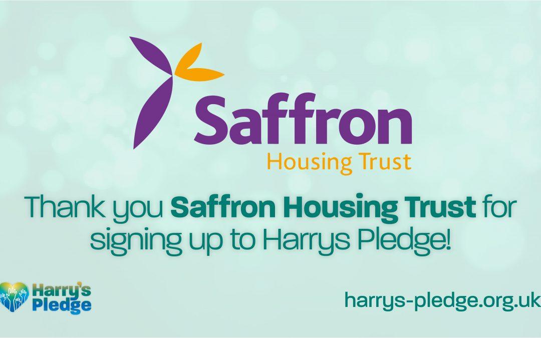 Saffron Housing Trust sign up to Harry's Pledge