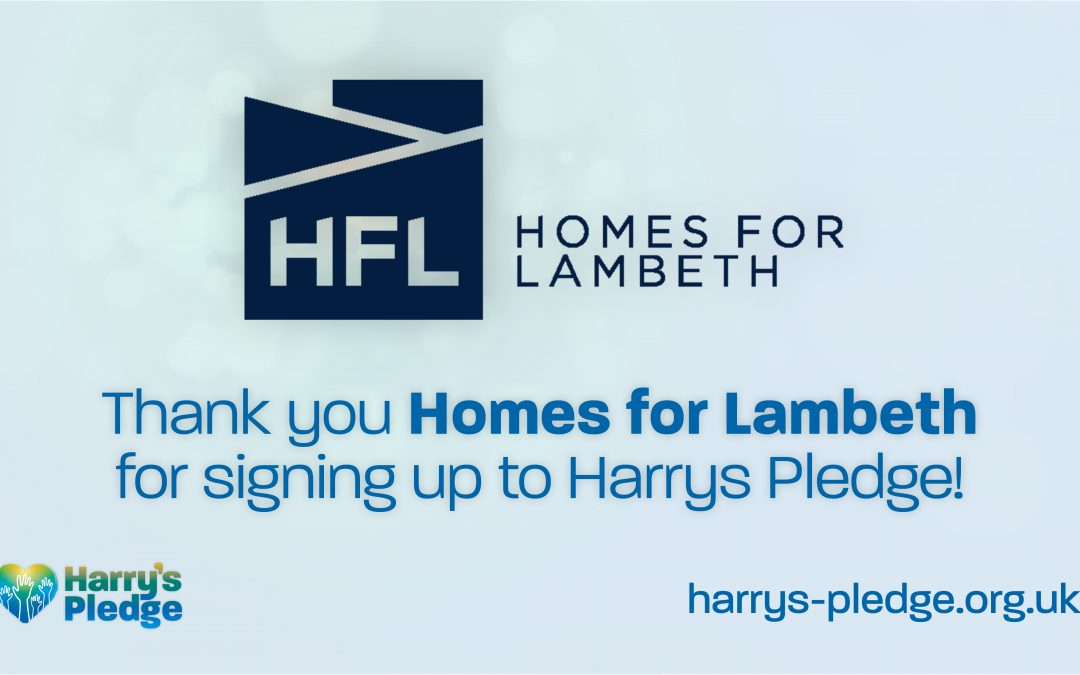 Homes for Lambeth sign up to Harry's Pledge